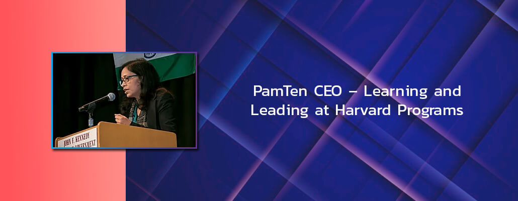 PamTen CEO – Learning and Leading at Harvard Programs