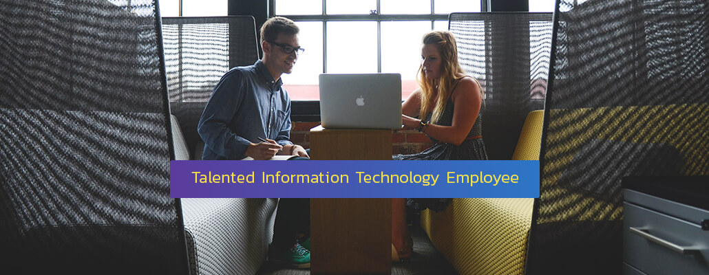 Talented information technology Employee
