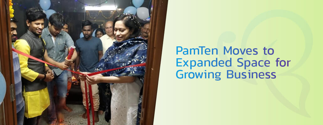 PamTen Moves to Expanded Space for Growing Business