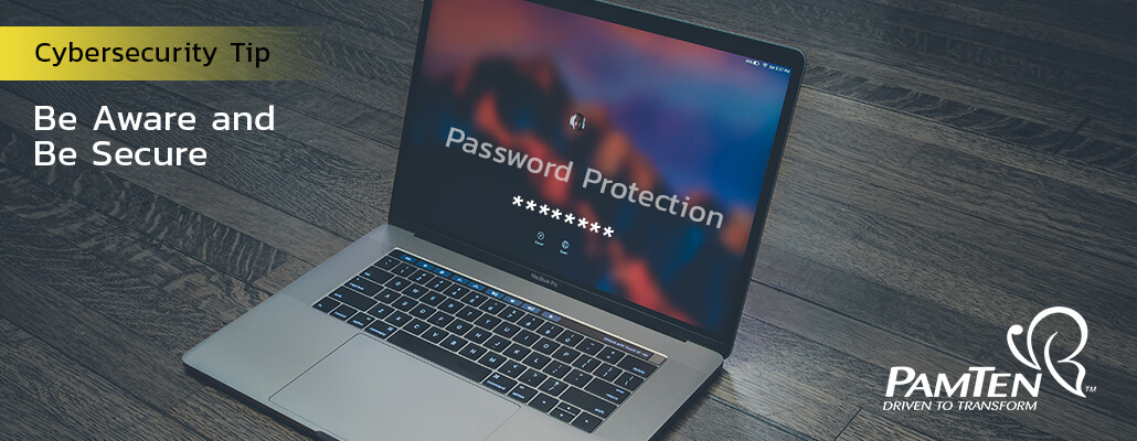 Password Protection | Cybersecurity | PamTen